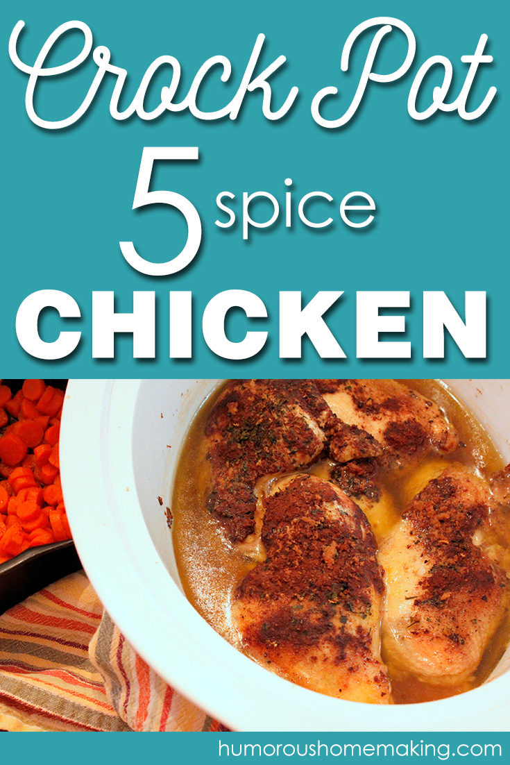 In my opinion, This Crock Pot 5-Spice Chicken is the best way to use the unique Chinese 5-Spice Powder.
