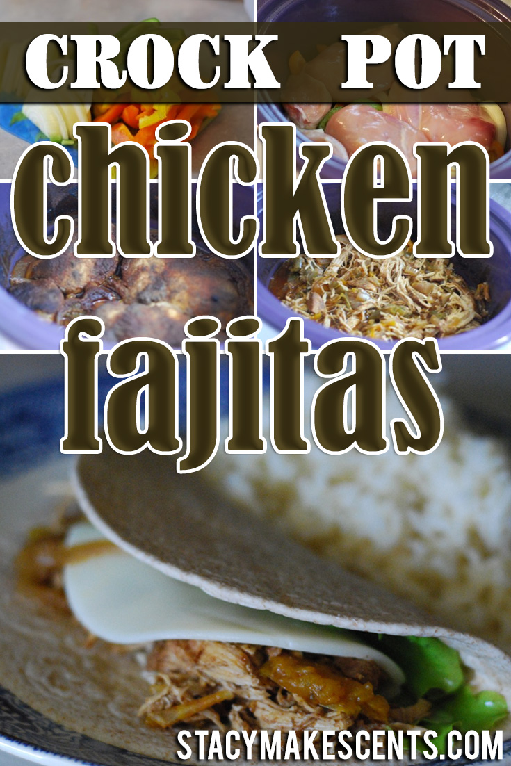 Crockpot Chicken Fajitas Oh. My. Word. These are amazing. Easy to assemble and a breeze to cook in the crockpot