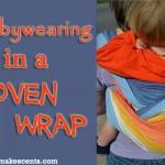 Babywearing in a Woven Wrap