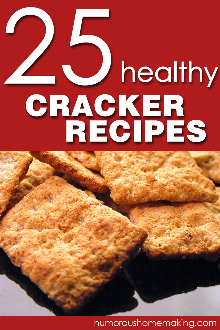 No need to search all over the place... Here are 25 Healthy Cracker Recipes all in one post!