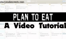 Meal Planning – A Video Tutorial