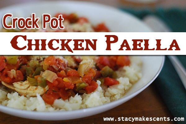 I don't care how you pronounce it, this Crockpot Chicken Paella is just yummy! It's a great dinner idea for those busy days when life just gets away from you!