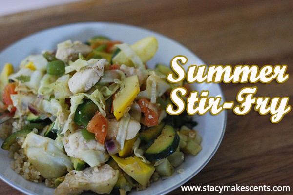 Summer Stir Fry - Humorous Homemaking