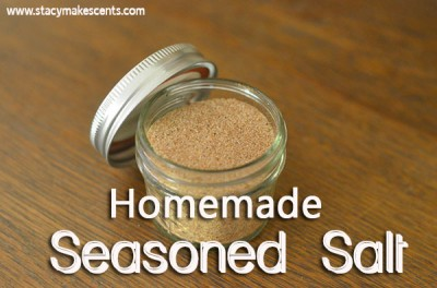 Skip the MSG filled store bought seasoning and make your own homemade seasoned salt with this recipe.