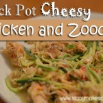 Crock Pot Cheesy Chicken and Zoodles
