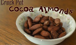 Crock Pot Cocoa Almonds