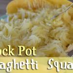 Crock Pot Spaghetti Squash