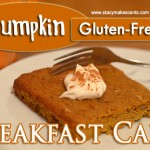 Pumpkin Breakfast Cake (GF)