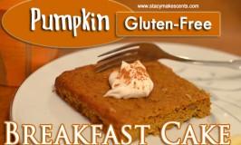 Pumpkin Breakfast Cake (GF)