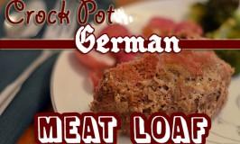 Crock Pot German Meatloaf