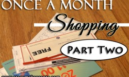Once a Month Shopping – Part Two