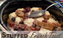 Crock Pot Stuffed French Toast
