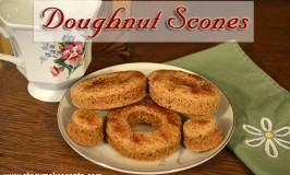 Doughnut Scones