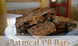Oatmeal PB Bars