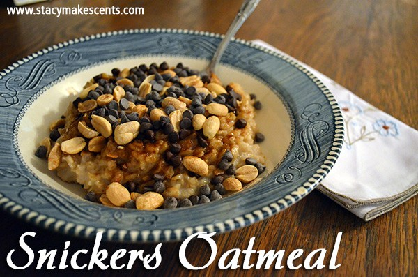 snickers-oatmeal