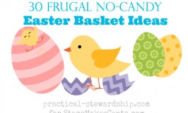 Frugal No-Candy Easter Basket Ideas