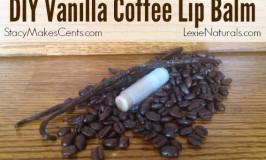 DIY Vanilla Coffee Lip Balm Recipe (Using Only Natural Ingredients)