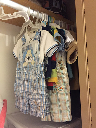 Are your kids' clothes taking over the house?! Check out these tips for paring down the wardrobes of your kids.