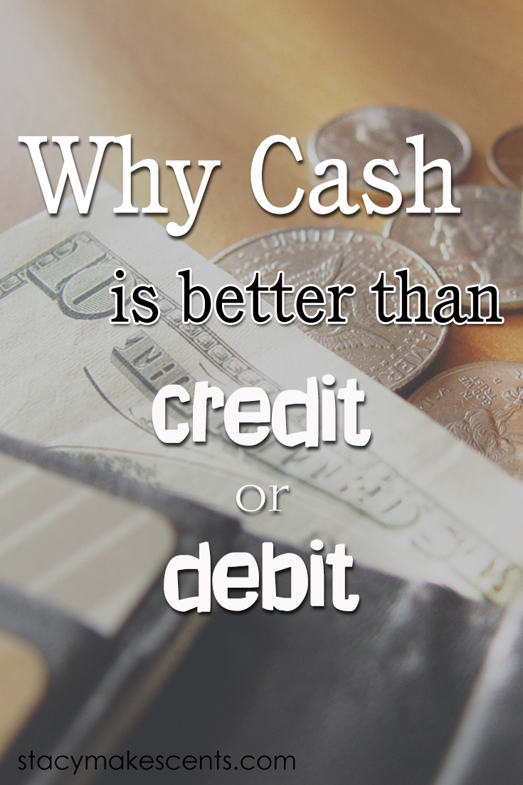 The case for why cash is better than credit or debit - including facts and studies to prove it!