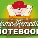 Home Remedies Notebook