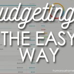 Budgeting the Easy Way