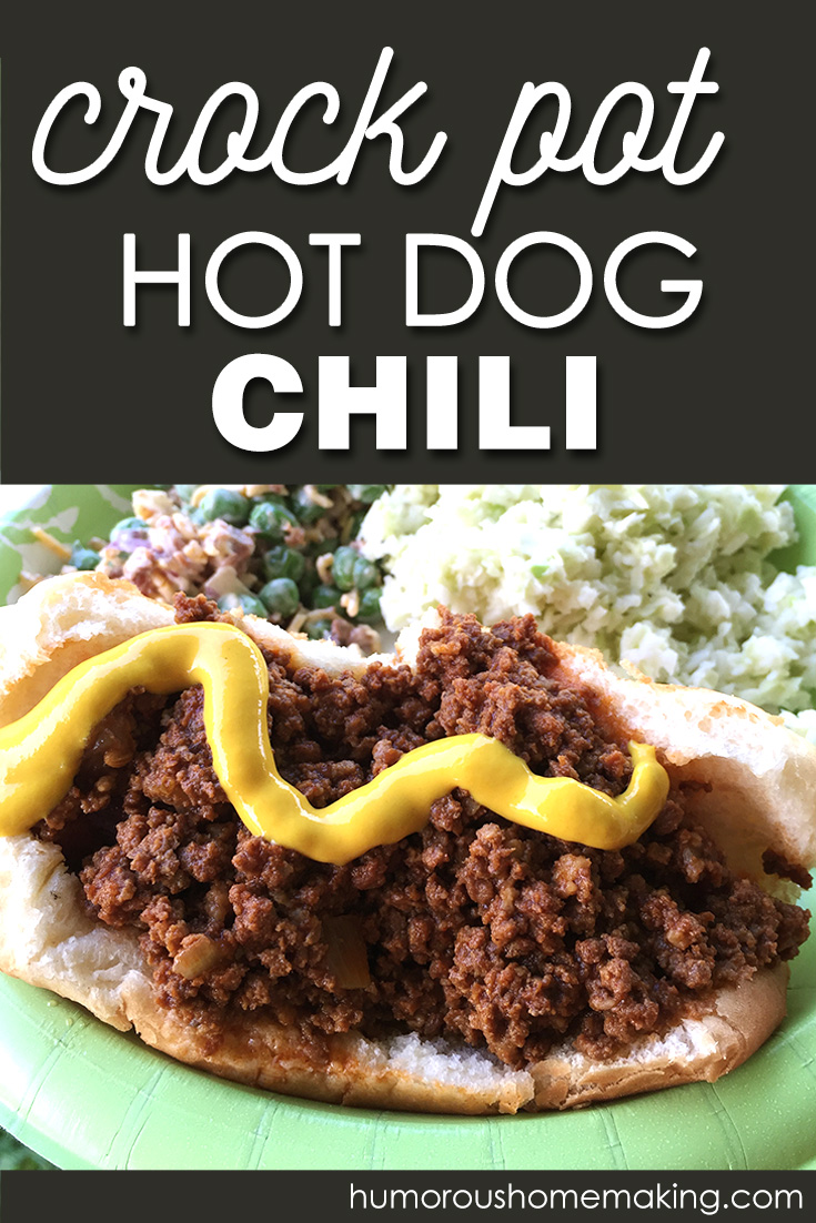 crock pot hot dog chili