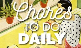 Chores to do Daily