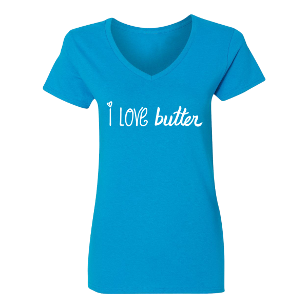 i love butter tee shirt