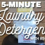 5 Minute Laundry Detergent