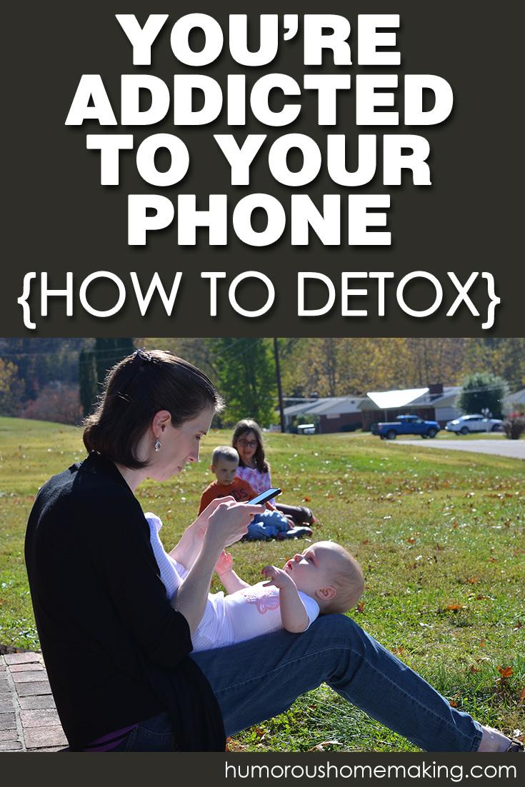 phone addict detox
