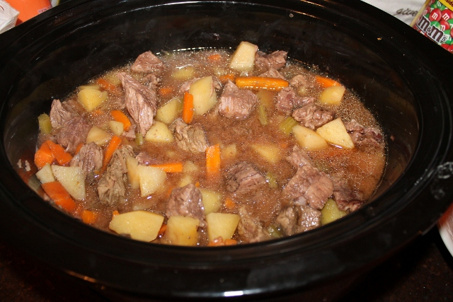 Chicken beef soup for Crock pot fish stew