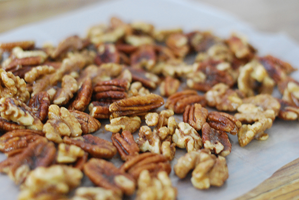 No more burning your nuts in the oven! These Crockpot Candied Nuts are ready in an hour and are soooo yummy!