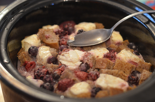 Crock Pot Stuffed French Toast