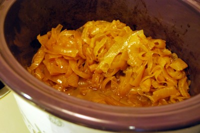 Crock Pot Caramelized-Onions