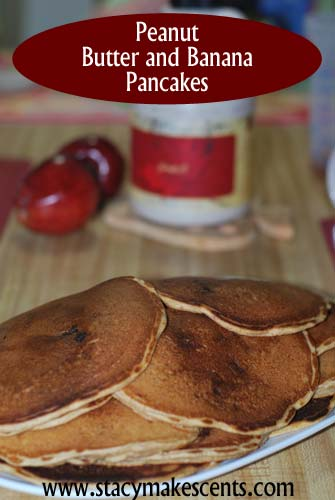 Peanut Butter and Banana Pancakes - Humorous Homemaking