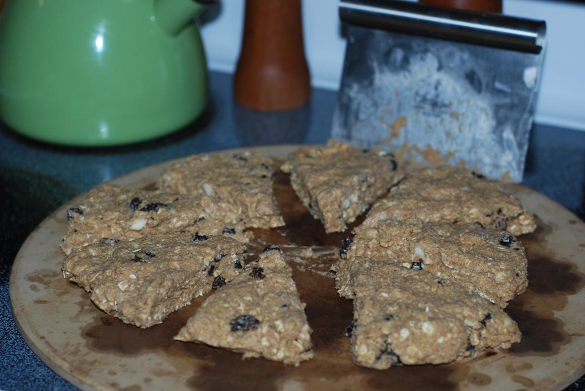 how to make raisin scones easy