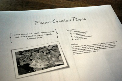 Pecan Crusted Tilapia
