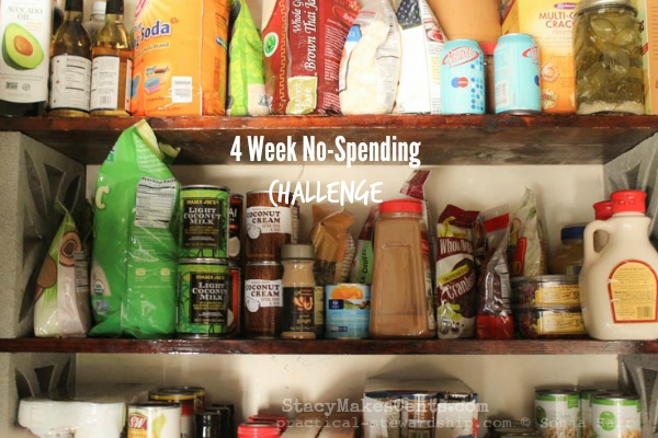 Shop Out of the Pantry No-Spending Challenge