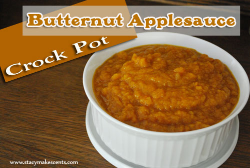 Crock Pot Butternut Applesauce