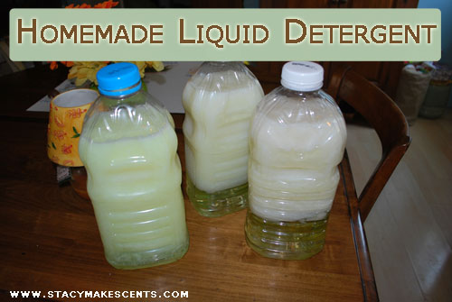 Homemade Liquid Laundry Detergent Humorous Homemaking